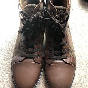 Kenneth Cole High top leather sneakers